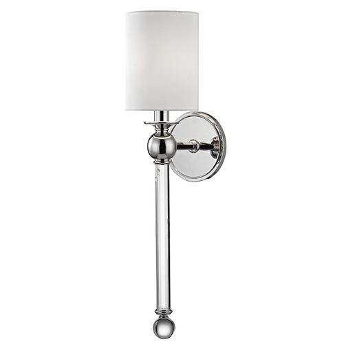Hudson Valley Lighting Gordon 1 Light Sconce - Polished Nickel 6031-PN
