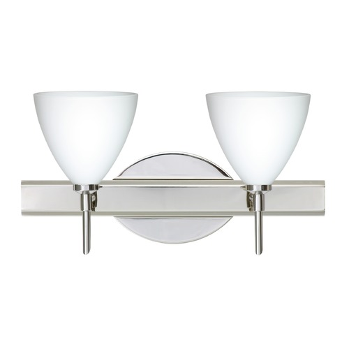 Besa Lighting Besa Lighting Mia Chrome LED Bathroom Light 2SW-177907-LED-CR