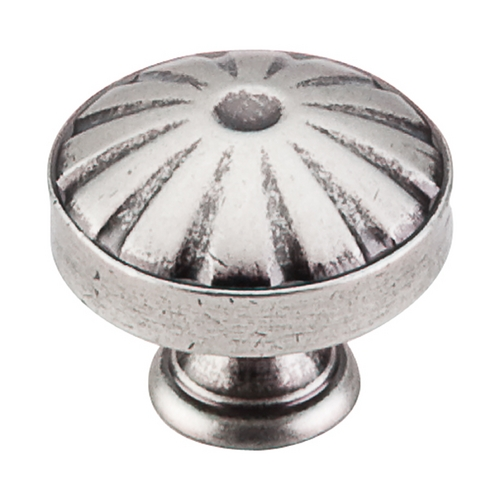 Top Knobs Hardware Cabinet Knob in Pewter Antique Finish M1223