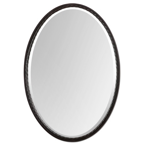 Uttermost Lighting Uttermost Casalina Oil Rubbed Bronze Oval Mirror 01116