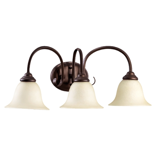 Quorum Lighting Quorum Lighting Spencer Oiled Bronze Bathroom Light 5110-3-86