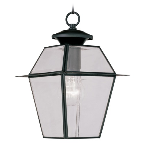 Livex Lighting Livex Lighting Westover Black Outdoor Hanging Light 2183-04