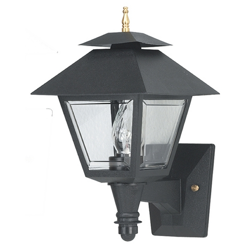 Wave Lighting Wave Lighting Marlex Colonial Black Outdoor Wall Light 106