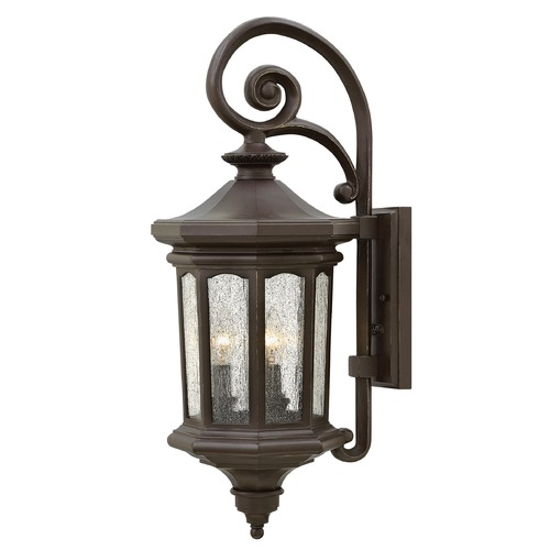 Hinkley Lighting Hinkley Lighting Raley Oil Rubbed Bronze Outdoor Wall Light 1604OZ