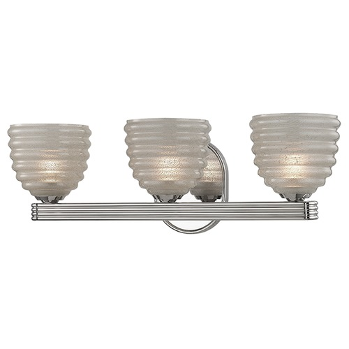 Hudson Valley Lighting Thorton 3 Light Bathroom Light - Polished Nickel 1133-PN