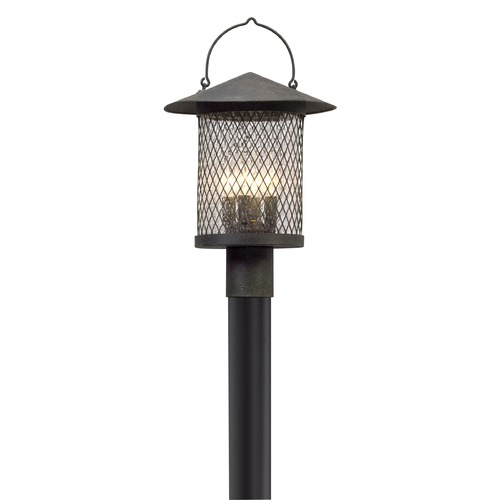 Troy Lighting Troy Lighting Altamont French Iron LED Post Light PL5175