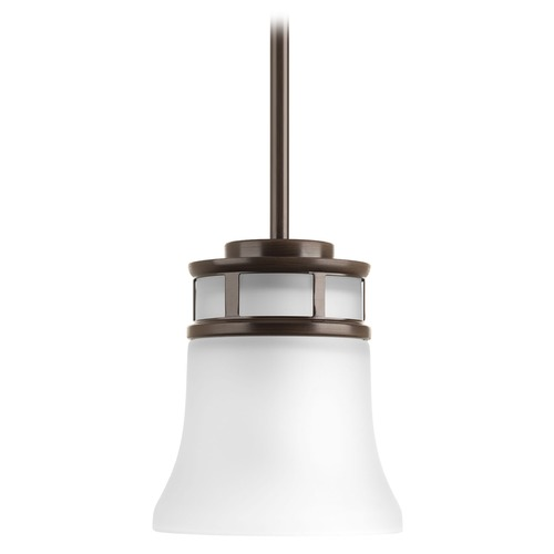 Progress Lighting Progress Lighting Cascadia Antique Bronze Mini-Pendant Light with Bell Shade P5066-20