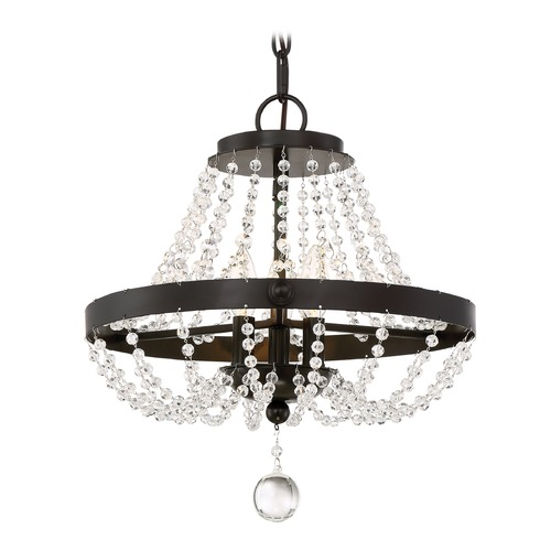 Quoizel Lighting Quoizel Lighting Livery Western Bronze Pendant Light with Bowl / Dome Shade LVY1716WT