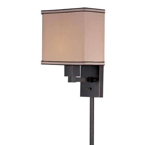Lite Source Lighting Lite Source Lighting Harvard Dark Bronze Wall Lamp LS-16919