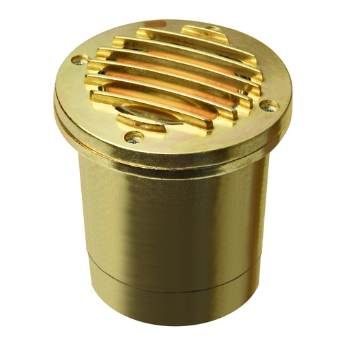 Hinkley Lighting In-Ground Well Light in Brass Finish 1599BS