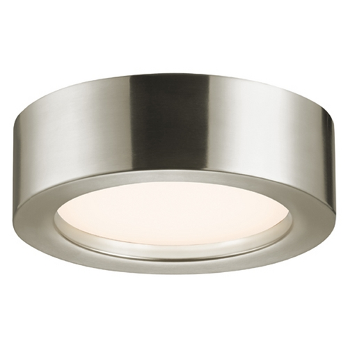 Sonneman Lighting Sonneman Lighting Puck Satin Nickel LED Flushmount Light 3723.13