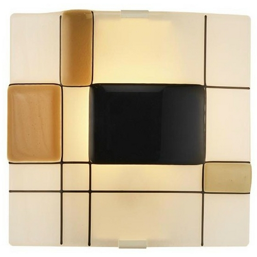 Oggetti Lighting Oggetti Lighting Appliquations Mondrian White Sconce 12-1221