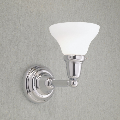 Norwell Lighting Norwell Lighting Coventry Chrome Sconce 8124-CH-SO