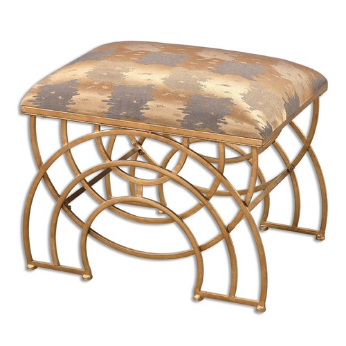 Uttermost Lighting Uttermost Marcedes Gold Small Bench 23206