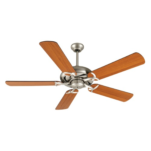 Craftmade Lighting Craftmade Lighting Civic Brushed Satin Nickel Ceiling Fan Without Light K10853