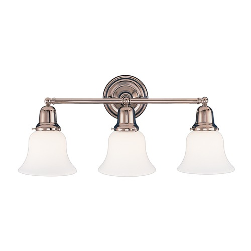 Hudson Valley Lighting Hudson Valley Lighting Edison Collection Polished Nickel Bathroom Light 583-PN-341