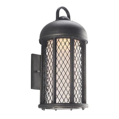 Troy Lighting Troy Lighting Signal Hill Aged Silver LED Outdoor Wall Light BL4482