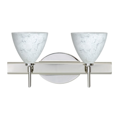 Besa Lighting Besa Lighting Mia Chrome LED Bathroom Light 2SW-177919-LED-CR