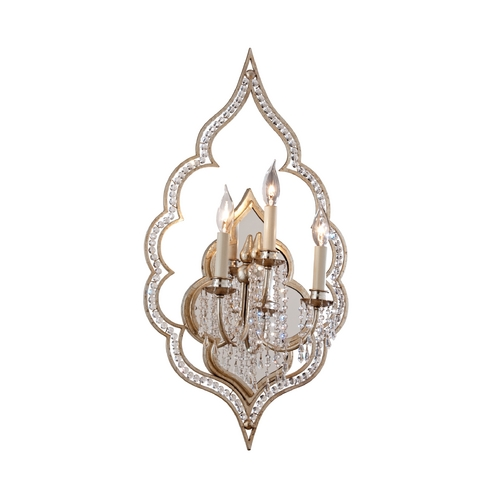 Corbett Lighting Corbett Lighting Bijoux Silver Leaf Sconce 161-13