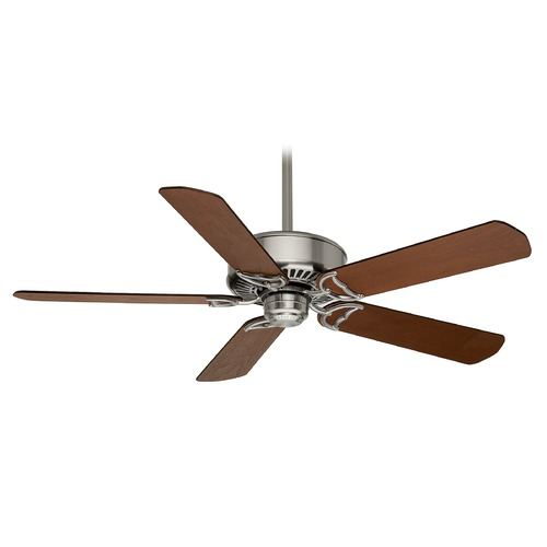 Casablanca Fan Co Casablanca Fan Panama Dc Brushed Nickel Ceiling Fan Without Light 59511