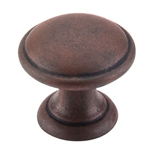 Top Knobs Hardware Cabinet Knob in Patina Rouge Finish M1225