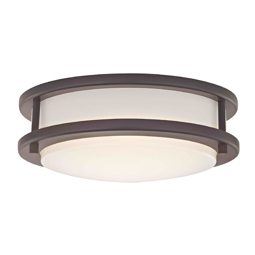 Design Classics Lighting Design Classics Mee Royal Bronze LED Flushmount Light 3010-90-30