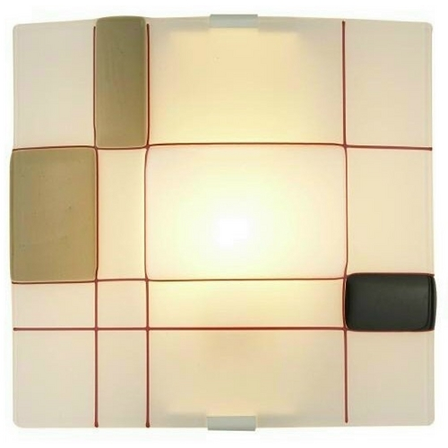 Oggetti Lighting Oggetti Lighting Appliquations Mondrian White Sconce 12-1222