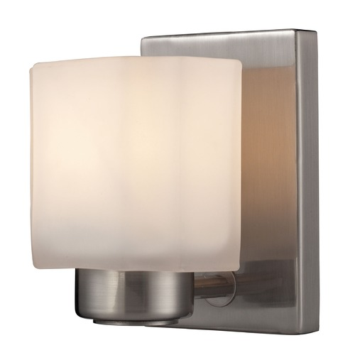 Elk Lighting Elk Lighting New Haven Brushed Nickel Sconce 66185/1