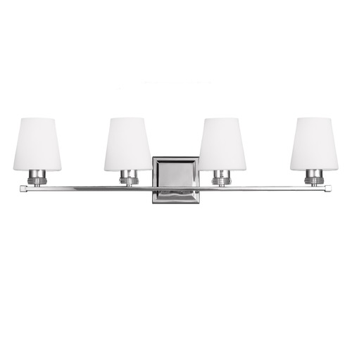 Feiss Lighting Feiss Lighting Rouen Polished Nickel Bathroom Light VS22204PN