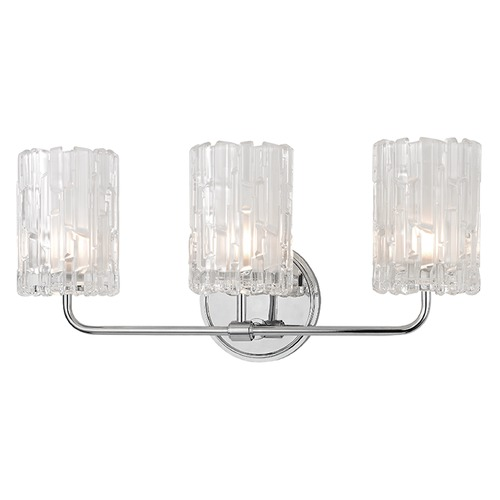 Hudson Valley Lighting Dexter 3 Light Bathroom Light - Polished Chrome 1333-PC