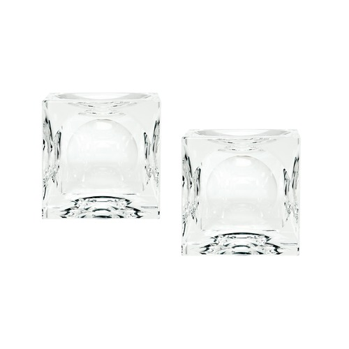 Dimond Home Dimpled Crystal Cubes - Smallall. Set Of 2 980016/S2