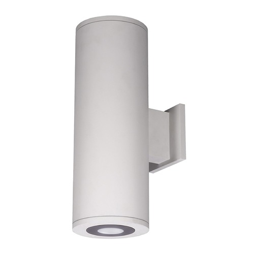 WAC Lighting 6-Inch White LED Ultra Narrow Tube Architectural Up and Down Wall Light 3500K 360LM DS-WD06-U35B-WT