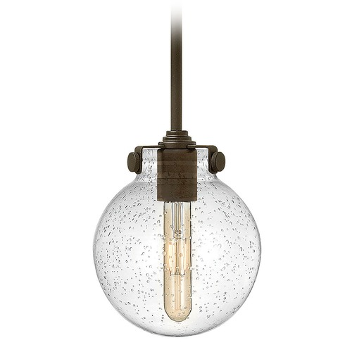 Hinkley Hinkley Congress Oil Rubbed Bronze Mini-Pendant Light with Globe Shade 3128OZ-CS
