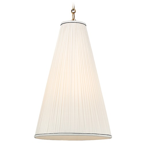 Hudson Valley Lighting Blake 1 Light Pendant Light - Aged Brass 7814-AGB-N