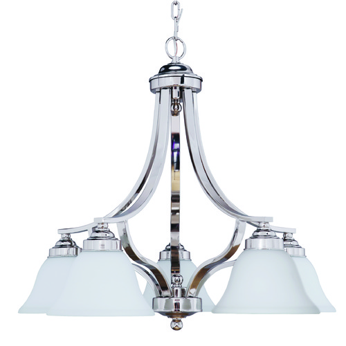 Craftmade Lighting Craftmade Portia Polished Nickel Chandelier 9828PLN5