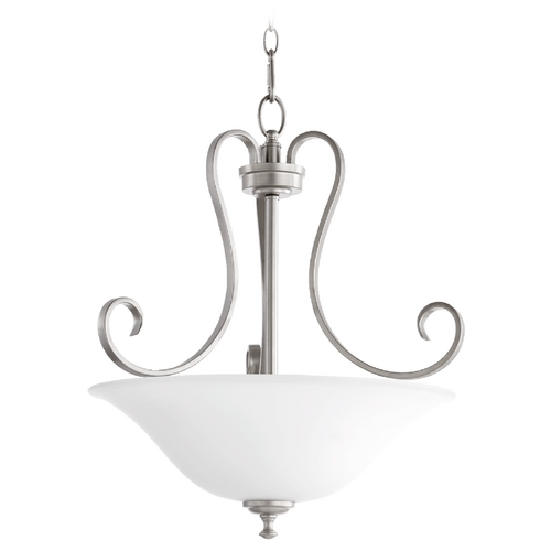 Quorum Lighting Quorum Lighting Celesta Classic Nickel Pendant Light 8053-3-64