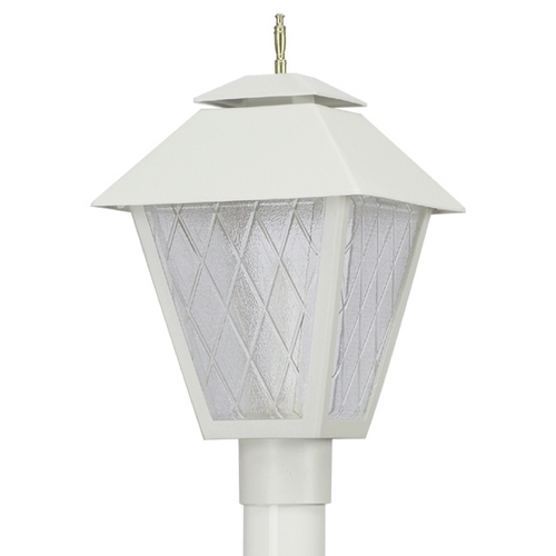 Wave Lighting Wave Lighting Marlex Colonial White Post Light 109
