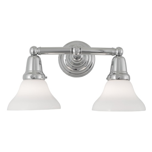 Norwell Lighting Norwell Lighting Coventry Chrome Bathroom Light 8125-CH-SO