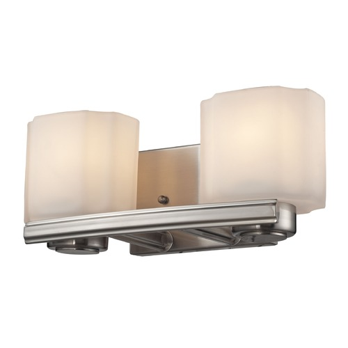 Elk Lighting Elk Lighting New Haven Brushed Nickel Bathroom Light 66186/2