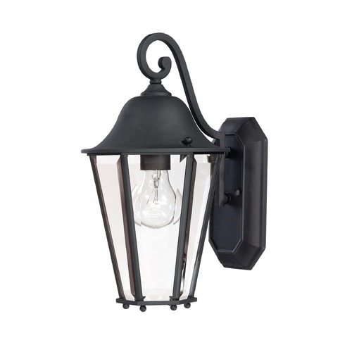 Savoy House Savoy House Black Outdoor Wall Light 5-6211-BK
