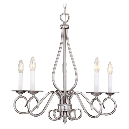 Savoy House Savoy House Pewter Chandelier KP-SS-114-5-69