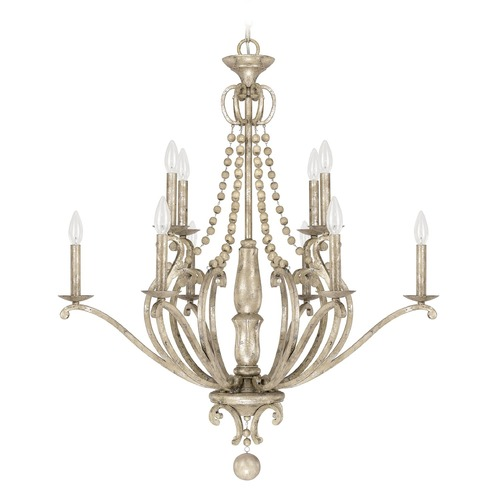 Capital Lighting Capital Lighting Adele Silver Quartz Chandelier 4440SQ-000