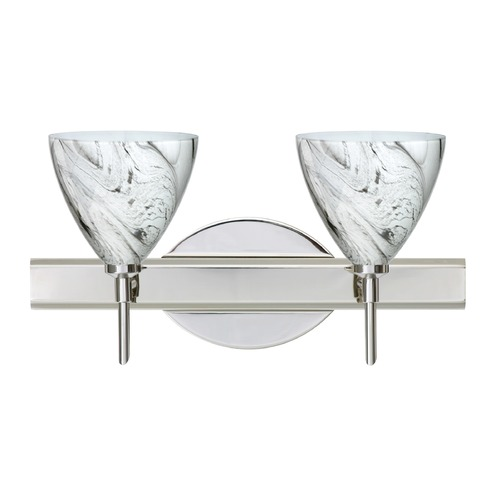 Besa Lighting Besa Lighting Mia Chrome LED Bathroom Light 2SW-1779MG-LED-CR