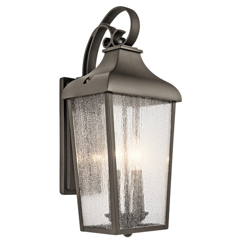 Kichler Lighting Kichler Lighting Forestdale Olde Bronze Outdoor Wall Light 49736OZ