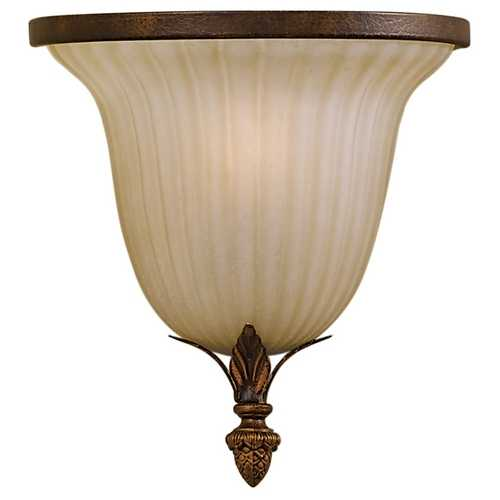 Feiss Lighting Sconce Wall Light in Aged Tortoise Shell Finish WB1279ATS