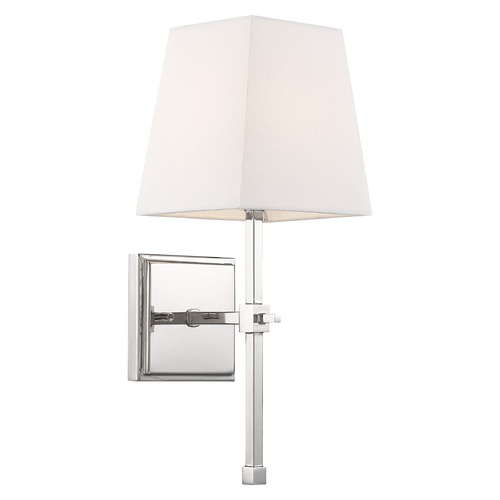 Nuvo Lighting Satco Lighting Highline Polished Nickel Sconce 60/6708