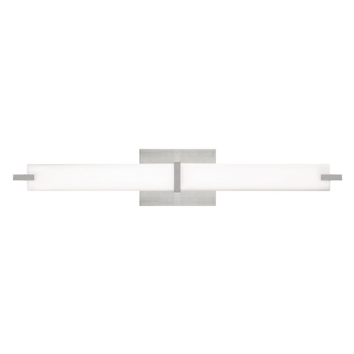 Tech Lighting Metro Bath Satin Nickel LED Bathroom Light - Vertical or Horizontal Mounting 700BCMETS-LED
