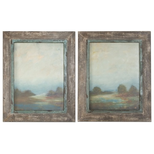 Uttermost Lighting Uttermost Morning Vistas Framed Art, Set of 2 51076