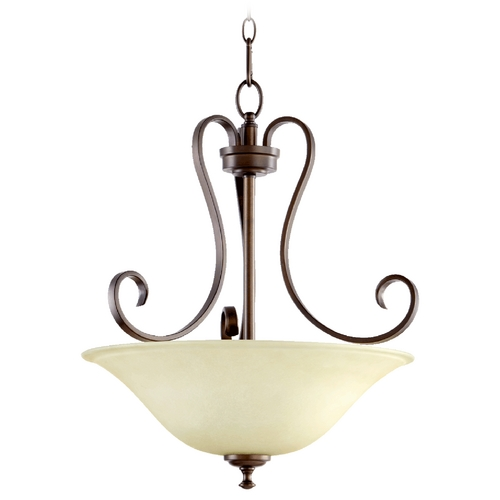 Quorum Lighting Quorum Lighting Celesta Oiled Bronze Pendant Light 8053-3-86