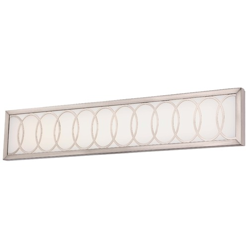 Minka Lighting Minka Celice Bath Brushed Nickel LED Bathroom Light 2934-84-L
